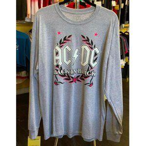 🎁Oversized AC/DC Long Sleeve T-Shirt L-2XL Unisex
